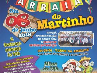 Festa Junina - Arraiá do Martinho