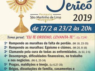 1°-2°-3°-4° dia do Nosso Cerco de Jericó. Está sendo uma benção para nossa comunidade.