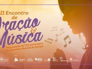 II Encontro de Oração e Música com cânticos Taizé