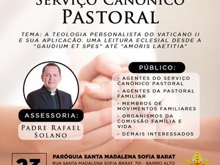 Em novembro: Seminário sobre Serviço Canônico-Pastoral de Pessoas Separadas/Divorciadas
