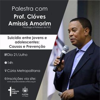 Juventude convida para palestra sobre suicídio entre jovens e adolescentes