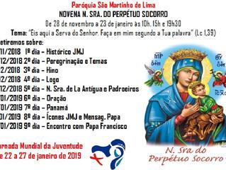 Novenario JMJ 2018 - 2019