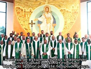 Padres da arquidiocese de Curitiba estão em retiro