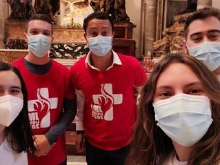 JMJ 2023: os jovens portugueses que receberam os símbolos