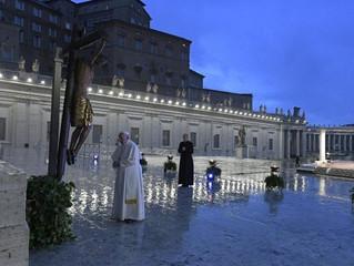 Homilia Papa Francisco - Adoração do Santíssimo e Bêncão Urbi et Orbi