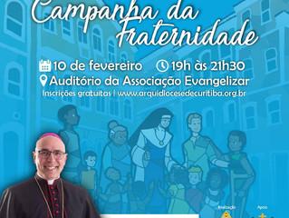 Curitiba contará com Seminário sobre o tema da Campanha da Fraternidade 2020