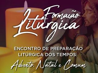 Formação litúrgica tratará sobre Advento, Natal e Tempo Comum