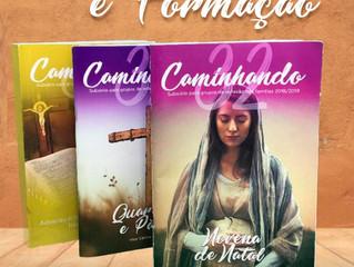 """Formação gratuita sobre o """"Caminhando 32"""" – material de apoio a pequenos grupos"""