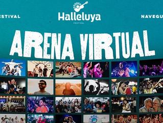 Festival Halleluya 2021 terá arena virtual para interação do público