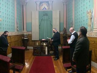 Novo Ecônomo da Mitra presta juramento oficial