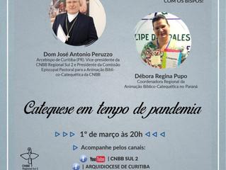 CNBB Regional Sul 2 promove live sobre Catequese em tempo de pandemia