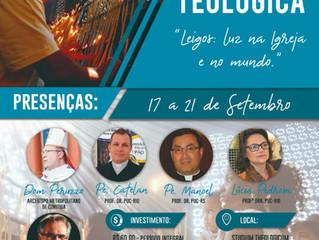 "40ª Semana Teológica - ""Leigos: Luz na Igreja e no mundo"""