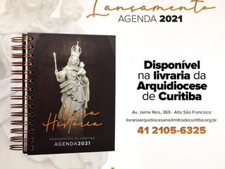 Arquidiocese disponibiliza Agenda 2021