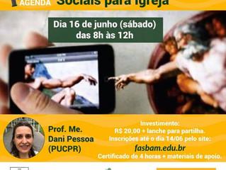 Curso de gestão de mídias sociais para Igreja neste sábado