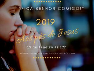 2019 aos pés de Jesus - Canção Nova Curitiba