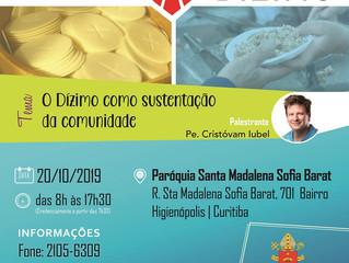 XXIII Seminário do Dízimo: dia 20 de outubro