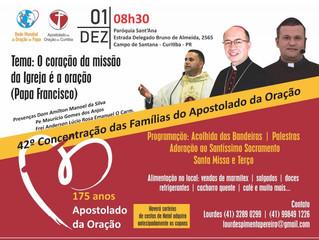 175 anos do Apostolado da Oração contará com celebração em Curitiba