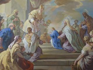 A apresentação de Nossa Senhora no Templo