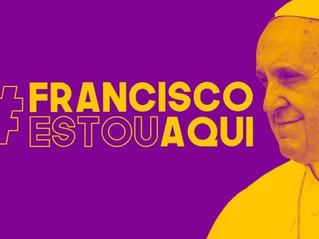 #FranciscoEstouAqui – nós apoiamos!