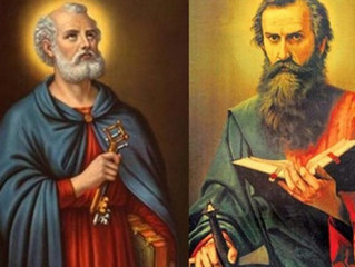 São Pedro e São Paulo: apóstolos fieis e modelos de vida para os cristãos de hoje