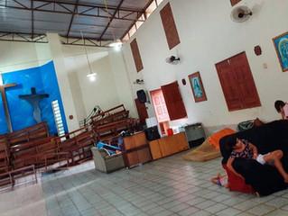 Enchente no Acre: capelas são abertas para acolher famílias desabrigadas em Sena Madureira