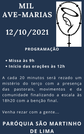 Mil Ave-Marias - 12/10/2021