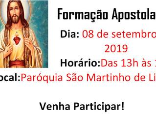 Formação Apostolado da Oração - 08/09/2019