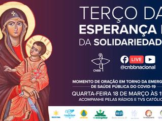COVID-19: Brasileiros são chamados a rezar o Terço da Esperança e da Solidariedade hoje, 15h30