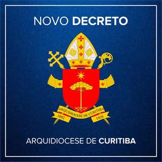 PANDEMIA – Decreto da prefeitura faz Dom Peruzzo enviar nova carta aos padres, suspendendo celebraçõ