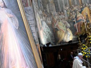 Papa recorda a festa da Divina Misericórdia: pedir a graça do perdão e do amor