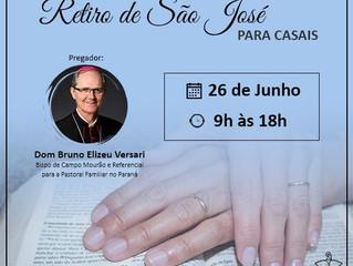 CNBB Sul 2 promove Retiro de São José para casais