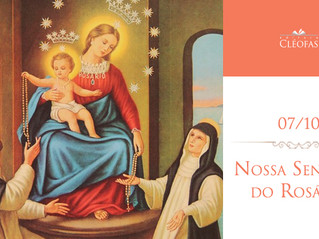 07/10 – Nossa Senhora do Rosário