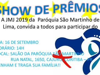 Show de Prêmios JMJ - 16/09/2018