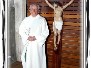 Homenagem ao Diácono João Cubas