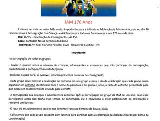 7ª Jornada Nacional Infância e Adolescência Missionária.