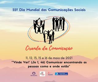 Em comemoração ao Dia Mundial das Comunicações Sociais, CRB promove Ciranda da Comunicação