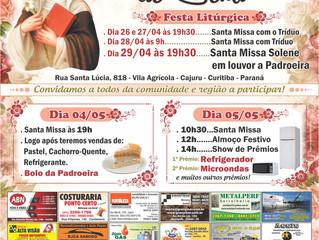 Festa da Padroeira Santa Catarina de Sena