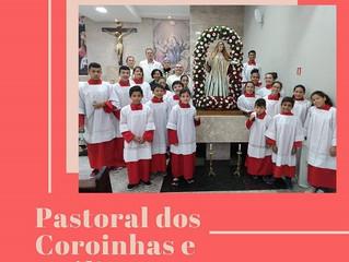 Paróquia Santa Bertila destaca papel dos coroinhas em publicações informativas nas redes sociais