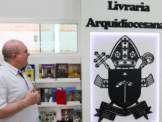 Novo setor de livros e artigos religiosos da arquidiocese é inaugurado