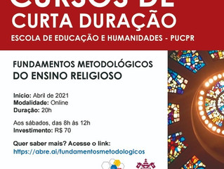 Escola de Educação e Humanidades da PUCPR lança cursos de curta duração