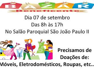 Bazar Beneficente - 07/09/2019