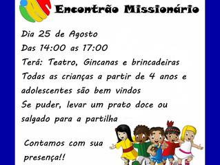 IAM - Encontrão Missionário - 25/08/2018