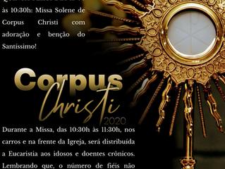 Missa Solene de Corpus Christi 2020