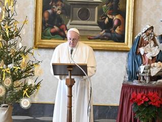 Francisco: com a gratidão, transmitimos esperança ao mundo