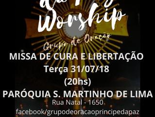 Grupo de Oração Príncipe da Paz - 31/07/2018