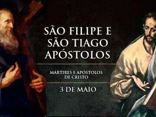 Hoje a Igreja celebra os santos apóstolos Filipe e Tiago