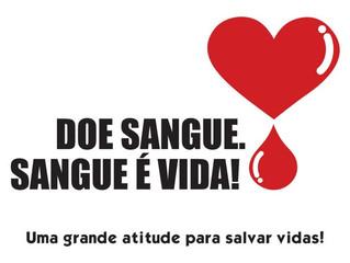 Doações de sangue tornam-se mais necessárias na época de férias
