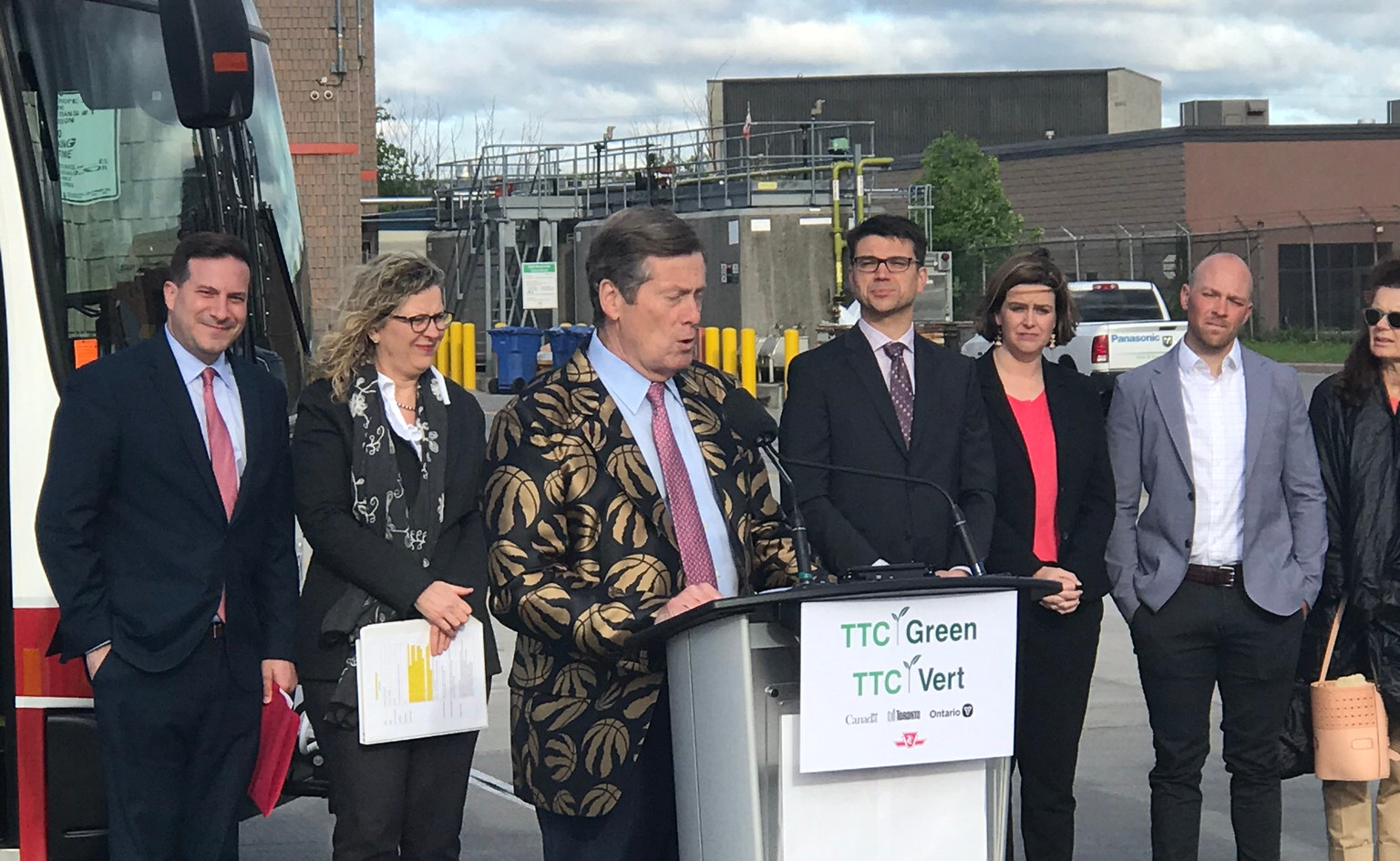 Mayor John Tory- Inauguration of North Americas largest Electric Bus Fleet