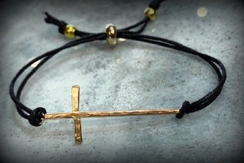 Christmas Cross Bracelet