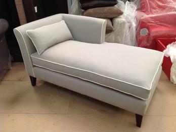 Bespoke Grey Chaise Lounge